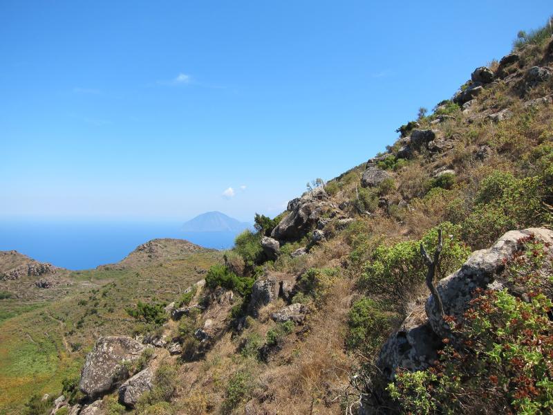 Alicudi mountain