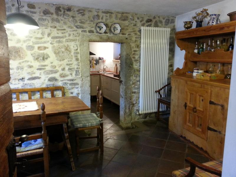 House in Pesariis, location de vacances à Ravascletto