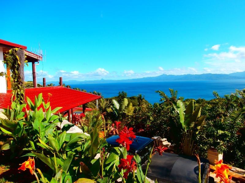 panoramic view of the Villa Vanilla Pool Apartment