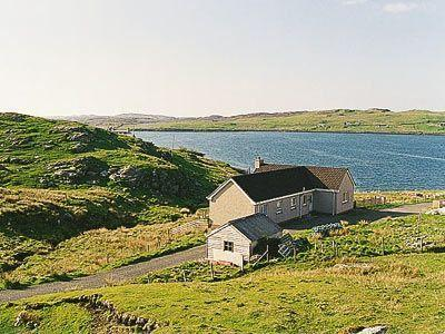 House overlooking sea loch