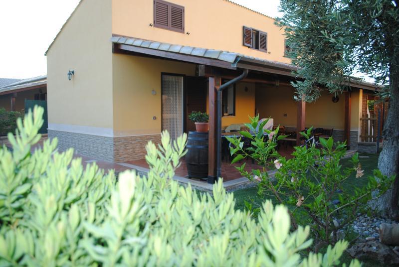 Villa en tuin
