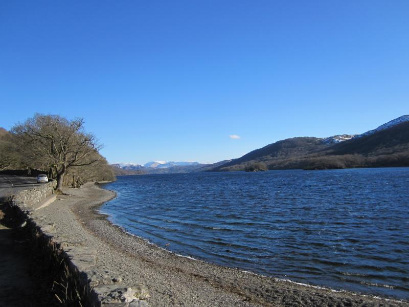 Coniston Water in Summer