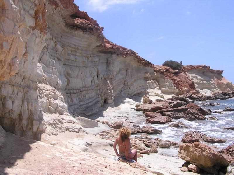 The Sea Caves where the locals swim daily