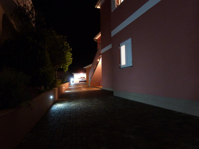 Outdoor Entrance by Night