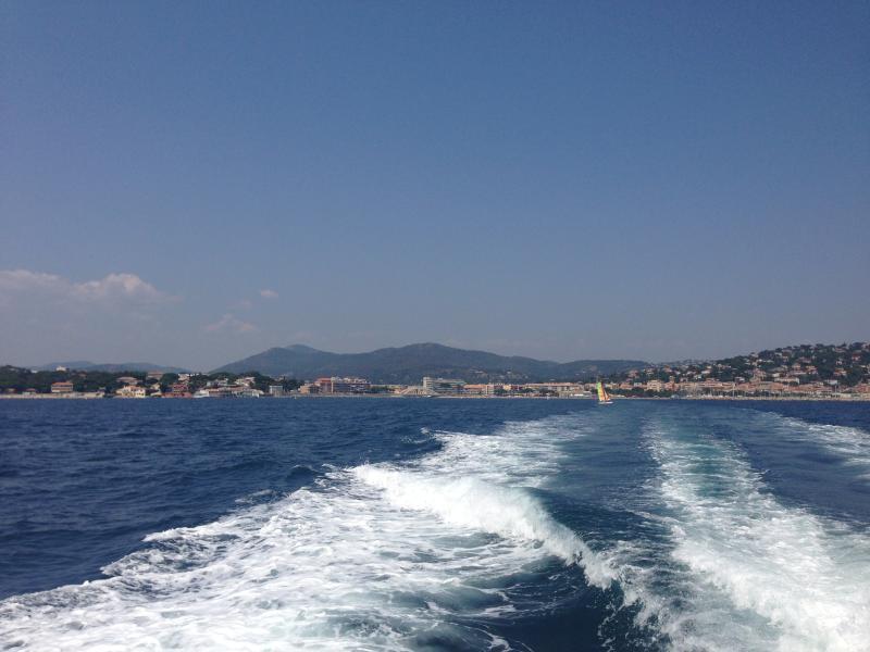 Sainte Maxime coastline
