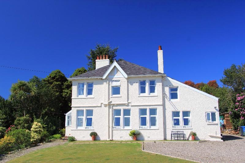 Impressive villa with stunning sea views of Ayrshire coast