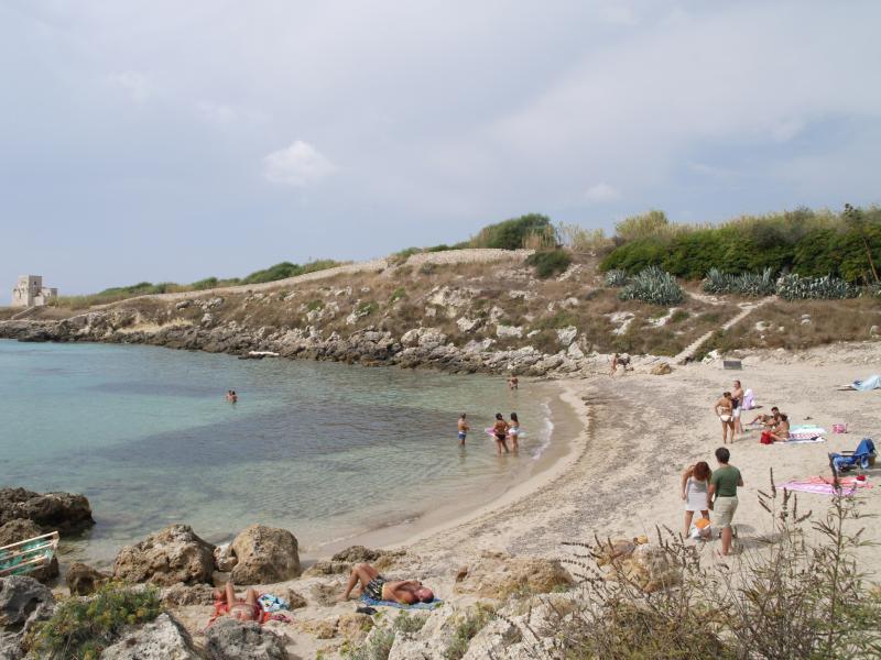 A free beach at 6 km
