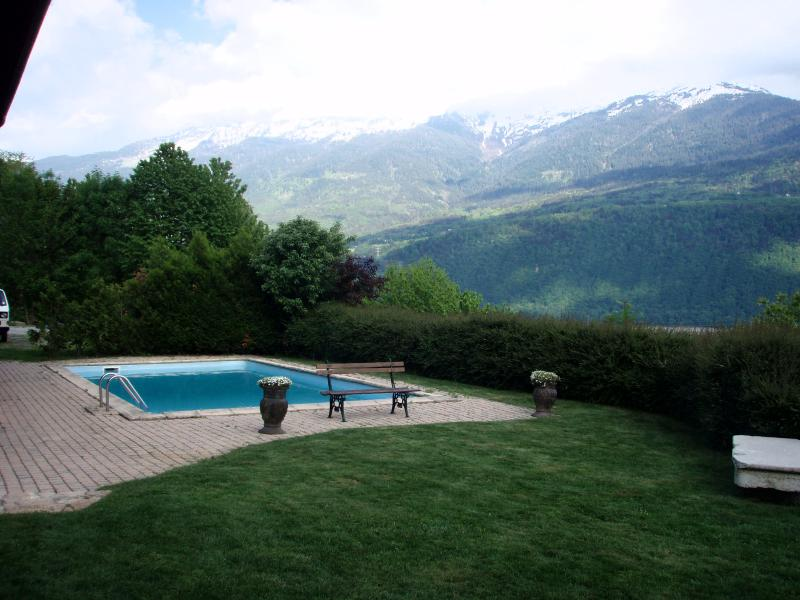 La Belle Vue Villa, holiday rental in Chamousset