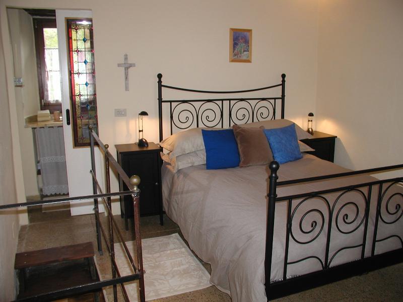 De slaapkamer Cottage met bijgevoegde bad