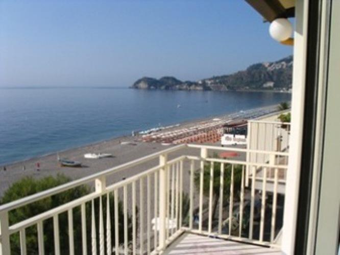 View of The bay of  Taormina