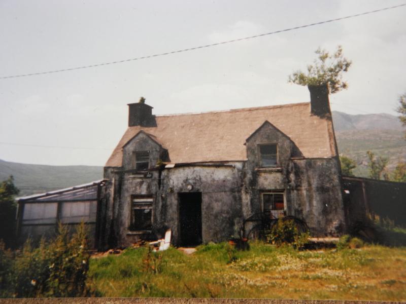 Bridgets Hütte in den frühen 1980er Jahren - ein Gartenhaus