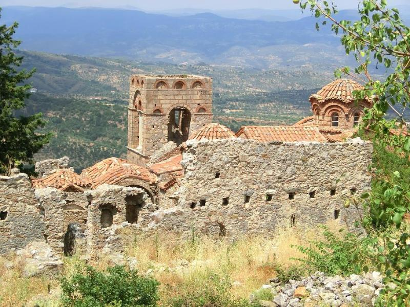 A nice excursion: Mistras, a Byzantine city.