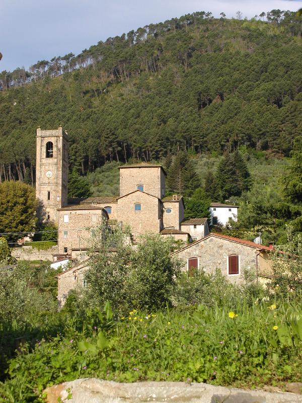 Een weergave van Sant'Andrea di CompitoVillage
