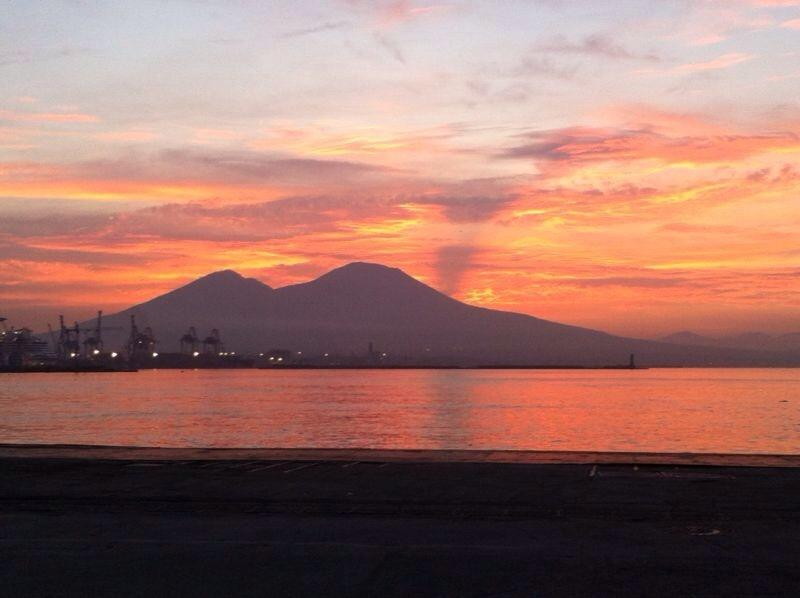Vesuvio sunset
