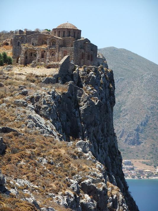 A nice excursion: Monemvasia, town built on a rock.