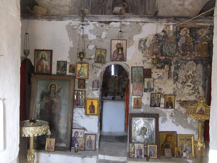 You will find a lot of little churches with beautiful wallpaintings and icons.