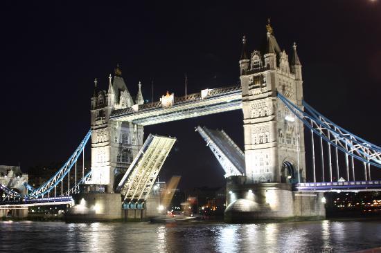 Tower Bridge, 100 yards away