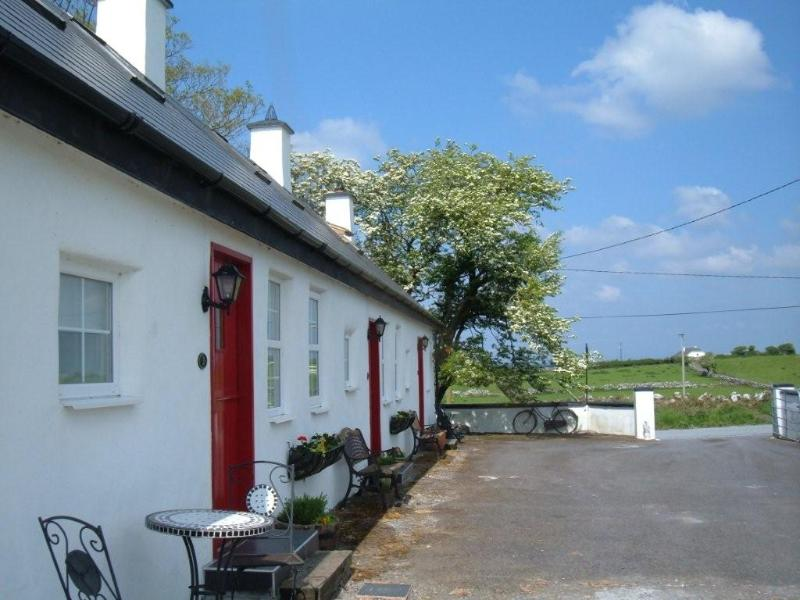Annaghkeen cottages.