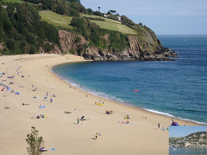 one of Englands most beautiful beaches approx. ten minutes (restaurant, cafe, showers, toilets)
