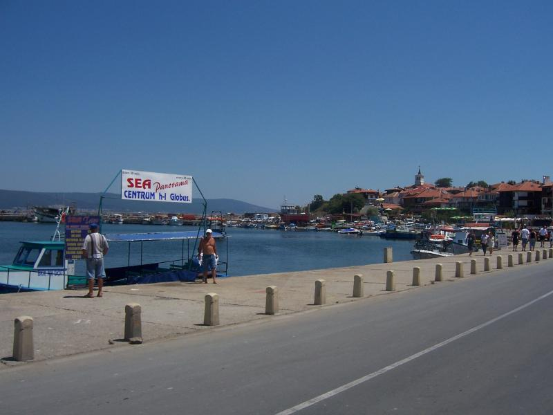 Boats travel daily from apartment to Nessebar Ancient Town
