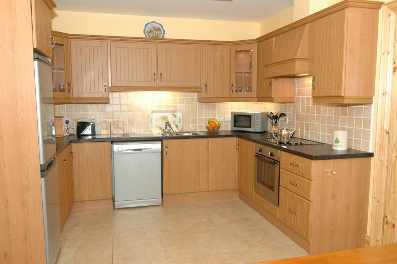 Kitchen of cottage No.1