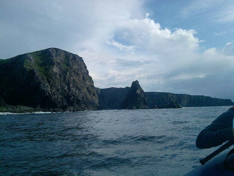 Enjoy deep sea fishing off the scenic coast