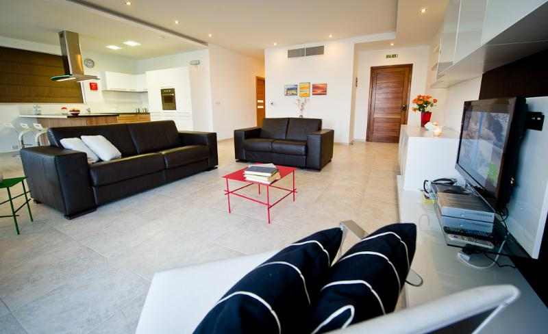Combined living & Dining Area