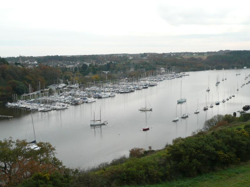 The Marina which is in front of Les Huniers