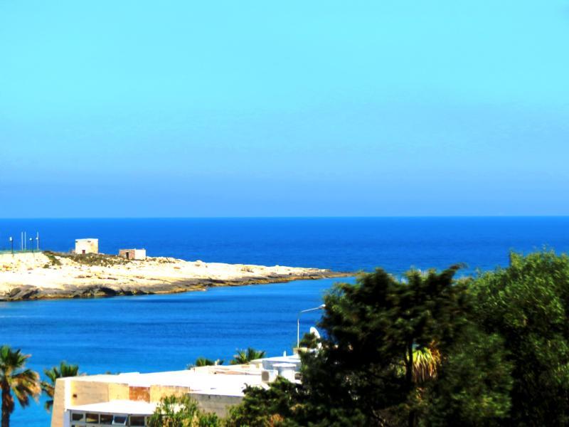 Con vistas al mar desde la terraza de