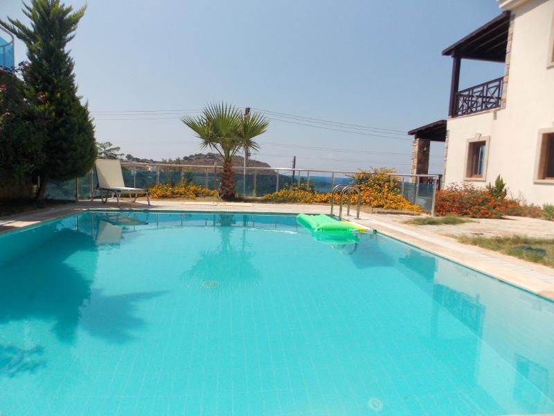 Bodrum privat villla with pool, wifi sauna, alquiler de vacaciones en Gumusluk