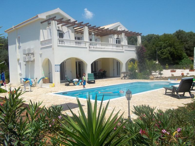 Villa Diana with private pool.