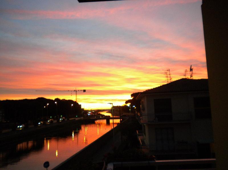 tramonto fino al mare