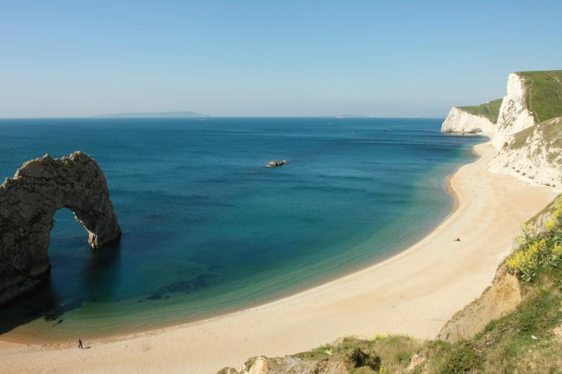 Durdle Door is one of the closest coastal beauty spots