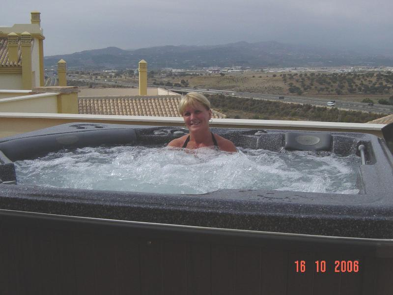 Jacuzzi/Hot Tub on Balcony
