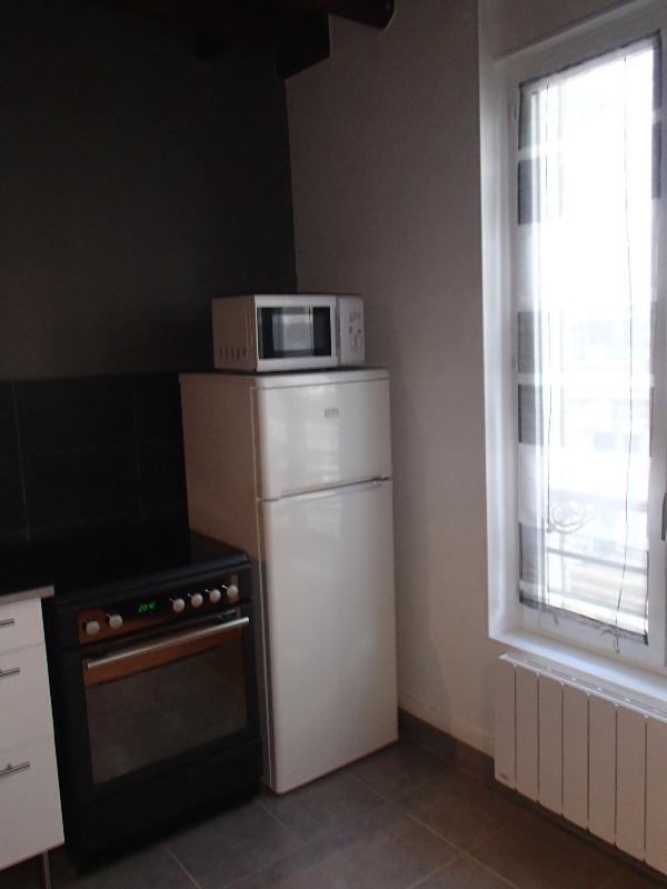 frigo et cuisinière - fridge and electric cooker