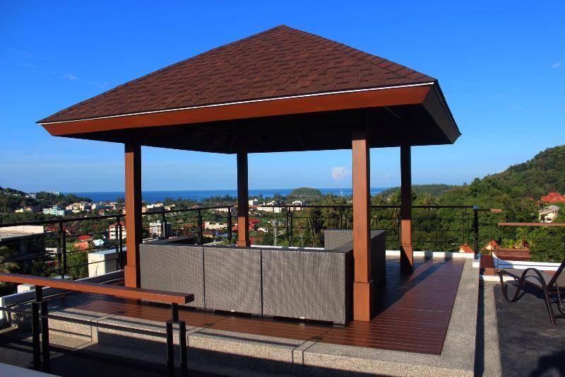 Mare di mattina vista dalla terrazza sul tetto!