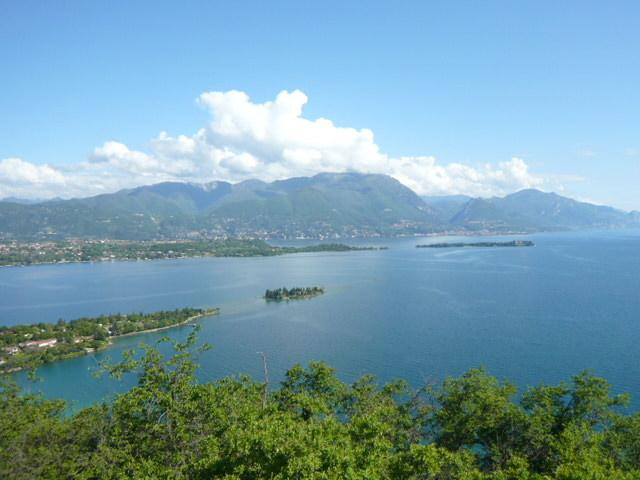 vista panoramica dalla Rocca di Manerba del Garda