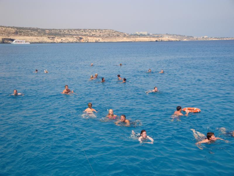 or swim and snorkle in the crystal clear waters