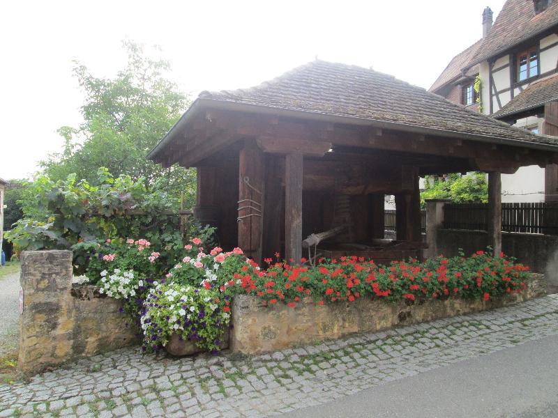 L'un des nombreux pressoirs du village