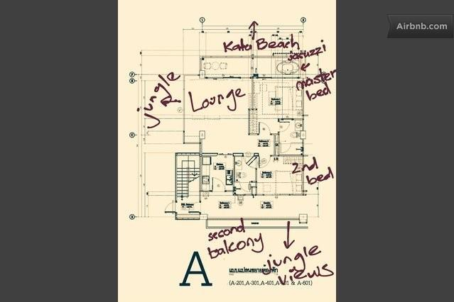 Layout of apartment #601