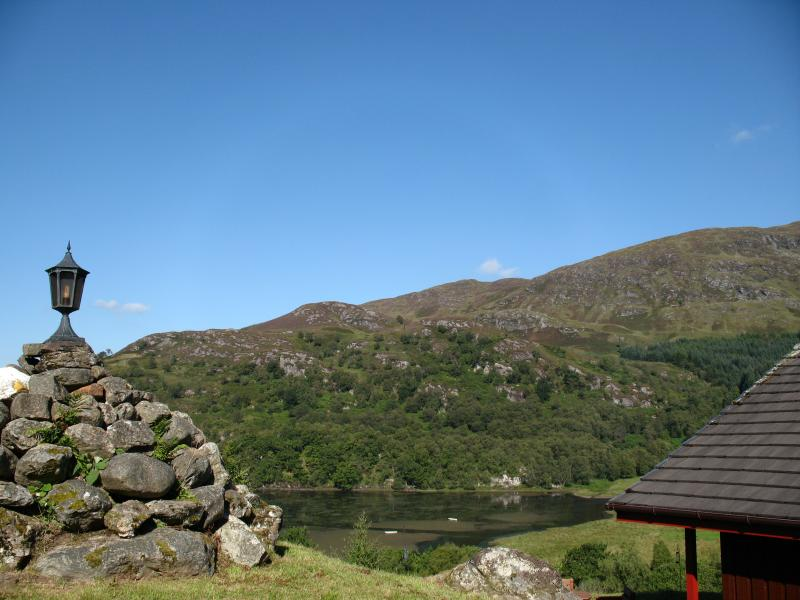 View of Loch Dochart from The Raven
