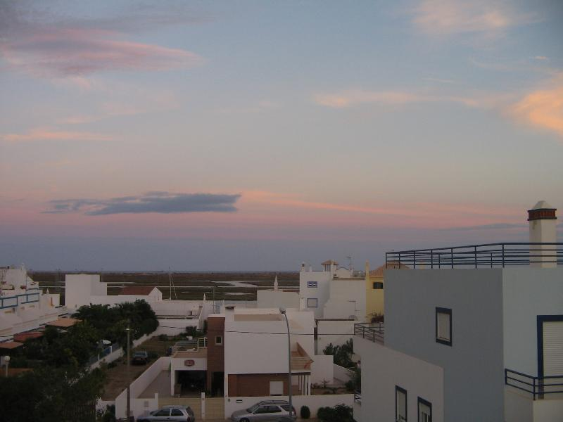 Evening View from the Terrace