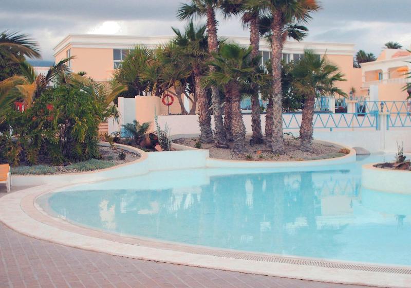 área da piscina principal