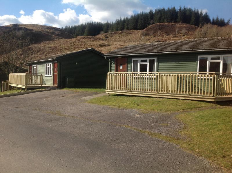 Outer Hebridean Chalet Cologin, holiday rental in Kilmore