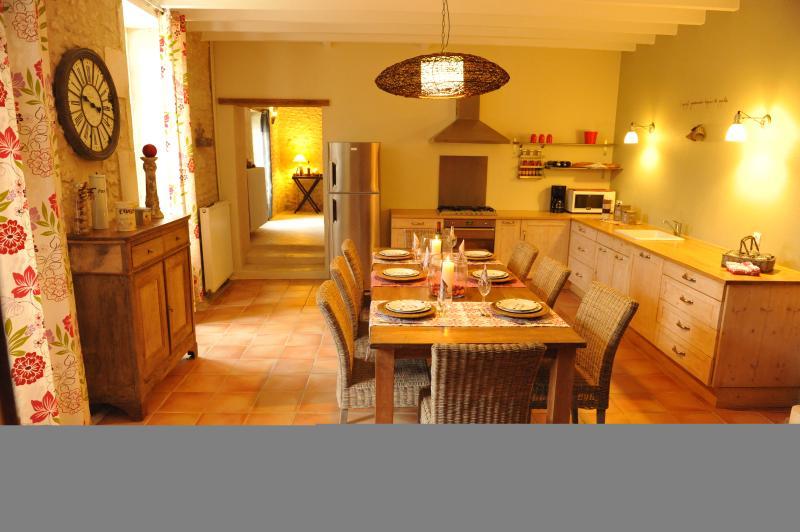Large plan Kitchen