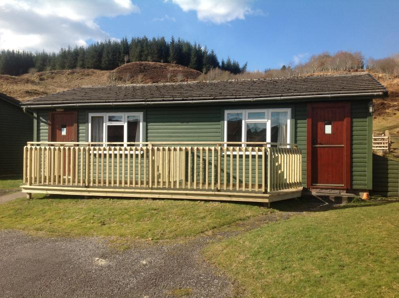 One bedroom - double or town beds - request on booking.