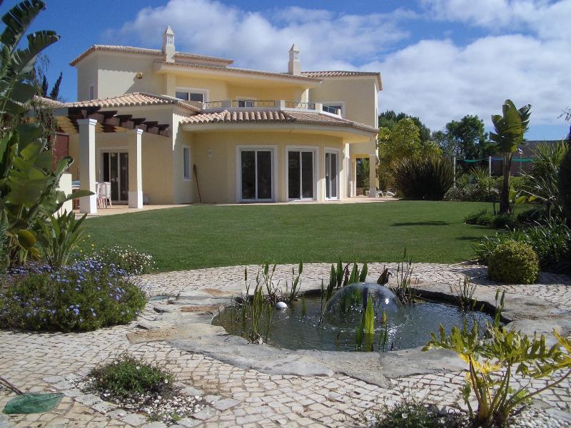Villa from front garden