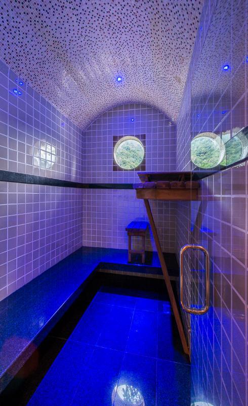 Private 6-8 person steam room