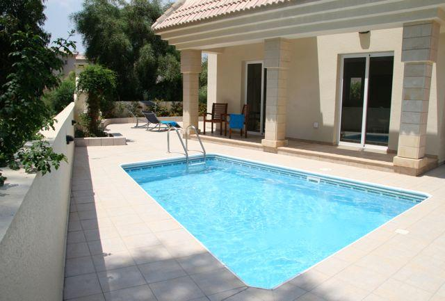 Pool and Terrace in tranquil setting less than 500m from Cyprus' Best Beaches