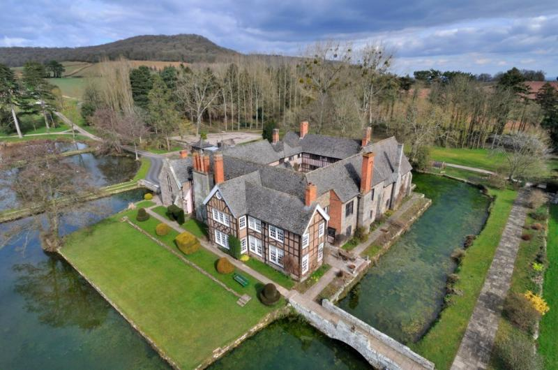 Brinsop Court Estate- Moated Manor House nestled within 800 acres in Herefordshire